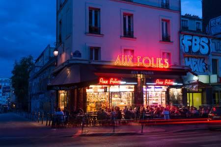 Aux Folies, Bar Paris Belleville #0