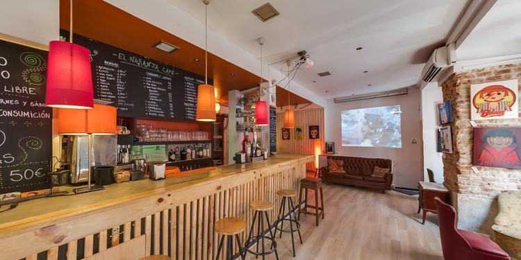 El Naranja Café, Bar Madrid Conde Duque #2
