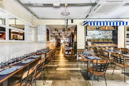 Restaurantes La Batea, Sala de alquiler Madrid Huertas #0