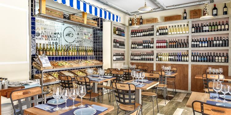 Restaurantes La Batea, Bar Madrid Huertas #0
