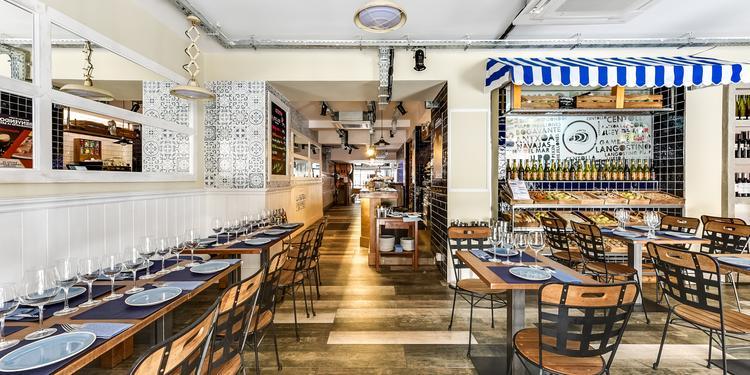 Restaurantes La Batea, Restaurante Madrid Huertas #0