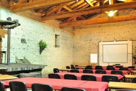 Domaine Albert, Salle de location Pommiers  #0