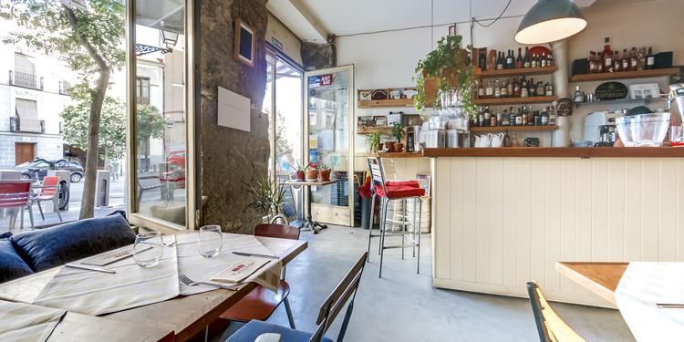 Menomale, Restaurante Madrid Conde Duque #1