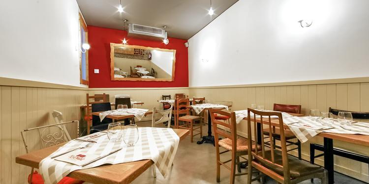Menomale, Restaurante Madrid Conde Duque #3