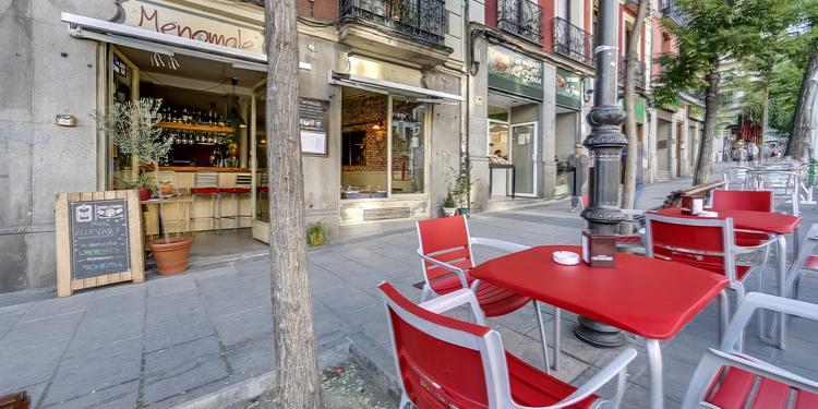 Menomale, Restaurante Madrid Conde Duque #4