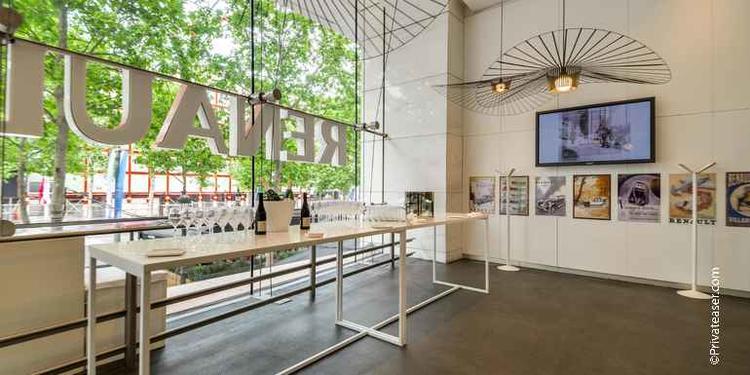 L'Atelier Renault Café, Restaurant Paris Champs Élysées #0