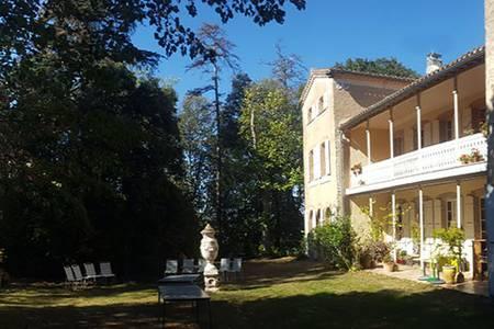 Domaine de Las Planques, Salle de location Vaudreuille  #0