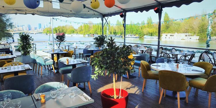 Aqua (Restaurant), Restaurant Suresnes Porte Maillot #0