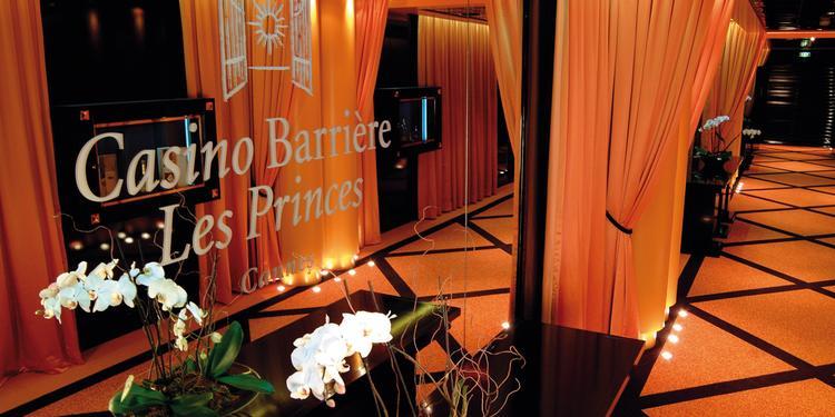 Casino Barrière Les Princes à Cannes, Salle de location Cannes  #0