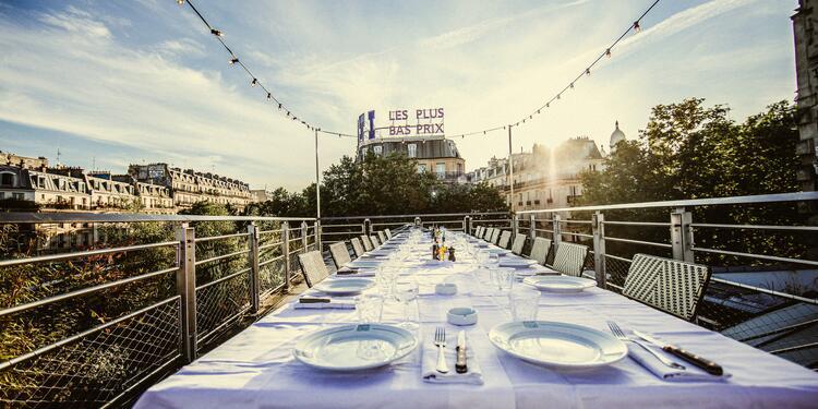 Brasserie Barbès: Le Rooftop et le club, Salle de location Paris Montmartre #0