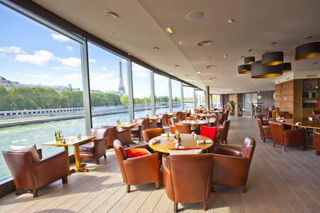 Bateaux Mouches : Le Club (restaurant), Restaurant Paris  #0