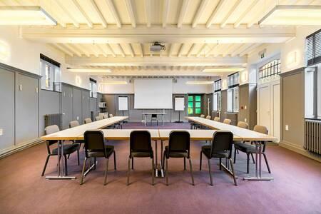Domaine de Ronchinne - Château & Écuries, Salle de location Maillen  #0