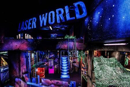 Laser World Montparnasse, Salle de location Paris Montparnasse #0