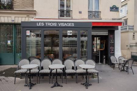Les Trois Visages, Bar Paris Quartier de Belleville #0