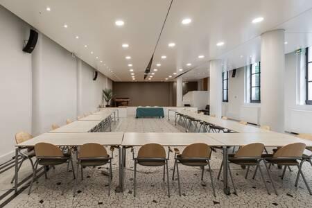 Le Cloître Ouvert : la salle Albert le Grand, Salle de location Paris Faubourg du Roule #0