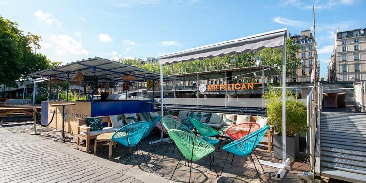Monsieur Pélican : La terrasse, Bar Paris Hôtel de ville #0
