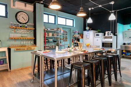 Escuela de Cocina Conversa, Sala de alquiler Madrid Buenavista #0