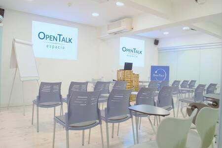 Open Talk : sala Auditurium, Sala de alquiler Madrid Chamberí  #0