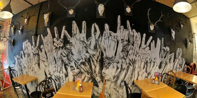 Zombie Bar, Restaurante Madrid Malasaña #3