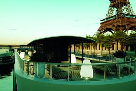 Gustave : la Terrasse, Salle de location Paris Tour Eiffel #0