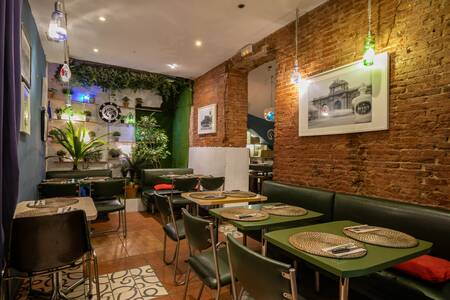 La Pasa Gin Bar : Sala Intermedia, Sala de alquiler Madrid Malasaña #0