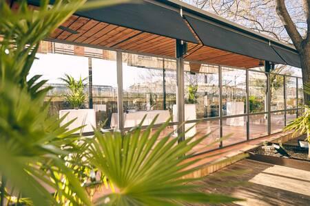 Café del Rey : Terraza Acristalada, Sala de alquiler Madrid Príncipe Pío #0