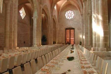 Monasterio de Rueda, Sala de alquiler Zaragoza  Escatrón #0