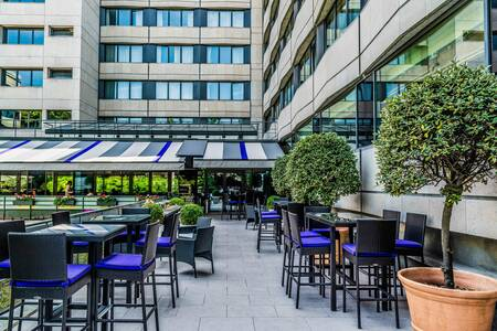 Crowne Plaza Paris Neuilly : La Terrasse, Salle de location Neuilly-sur-Seine Neuilly-sur-Seine #0