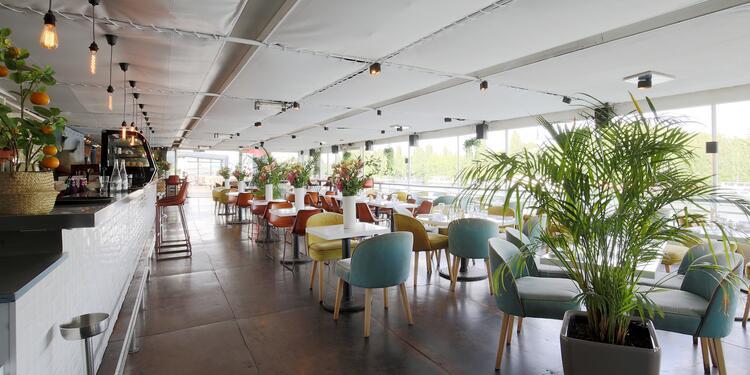 Aqua Restaurant - Véranda & Terrasse - Privatisation, Salle de location Suresnes Porte Maillot #0