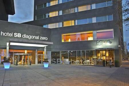 Hotel Diagonal Zero, Sala de alquiler Barcelona Plaça de Llevant #0