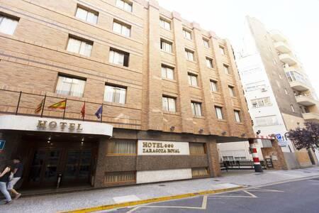 Husa Zaragoza Royal, Sala de alquiler Zaragoza Calle del Arzobispo Domenech #0