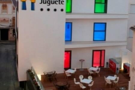 Hotel del juguete, Sala de alquiler Ibi Carrer l'Escoleta #0