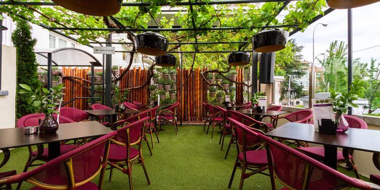 Uval Madrid : Terraza, Bar Madrid El Viso #0