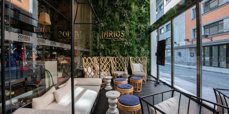Tanqueray Room (Ex Larios Café Madrid) : La terraza, Sala de alquiler Madrid Centro  #0