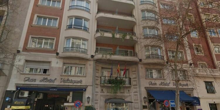 Hotel Velázquez Madrid, Sala de alquiler Madrid Calle de Velázquez #0