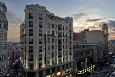 Hotel Regente, Sala de alquiler Madrid Calle de Mesonero Romanos #0