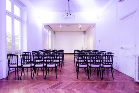 Le Pavillon Presbourg - Non Festif, Salle de location Paris Etoile #0
