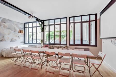 L'atypique loft au coeur de Paris, Salle de location Paris Rochechouart #0