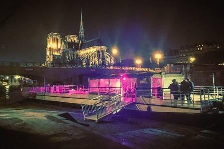 La Péniche sur Seine, Salle de location Paris  #0