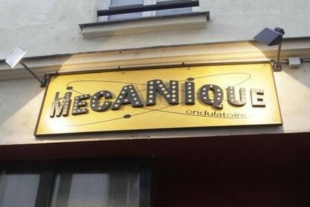 La mécanique ondulatoire, Bar Paris Bastille #0