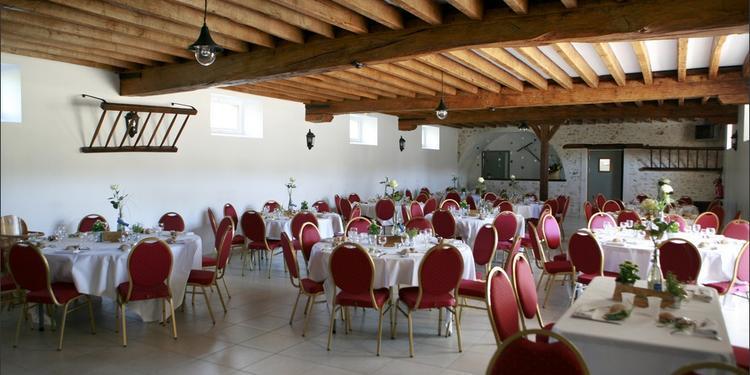 L'Etable de Véronge, Salle de location La Chapelle-Moutils  #0