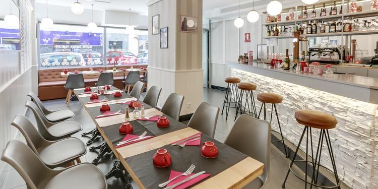 La Crepería Rosa, Restaurante Madrid Nuevos Ministerios #0