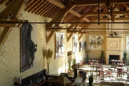 Grange de Bory, Salle de location La Boissière-École  #0