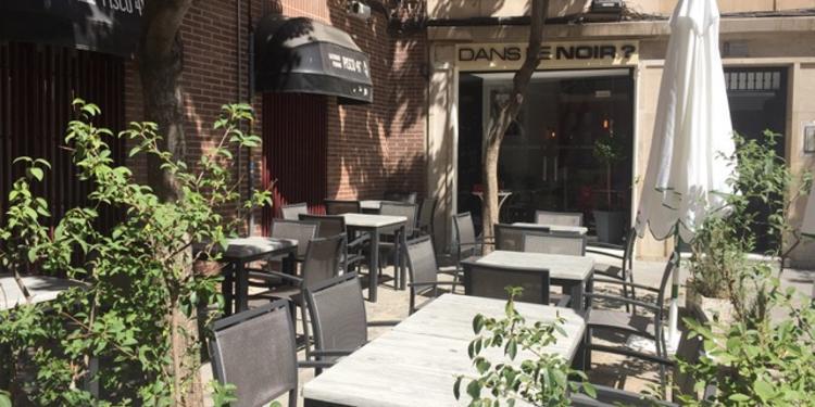 Dans le noir ?, Restaurante Madrid Centro #0