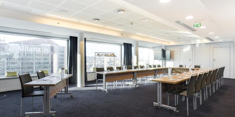 Hôtel Mélia **** : High Tech Flexy Room, Salle de location Courbevoie La Défense #0