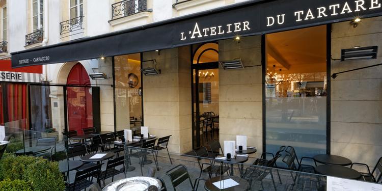 L'Atelier du tartare, Restaurant Paris-1ER-Arrondissement Chatelet - Les Halles #0