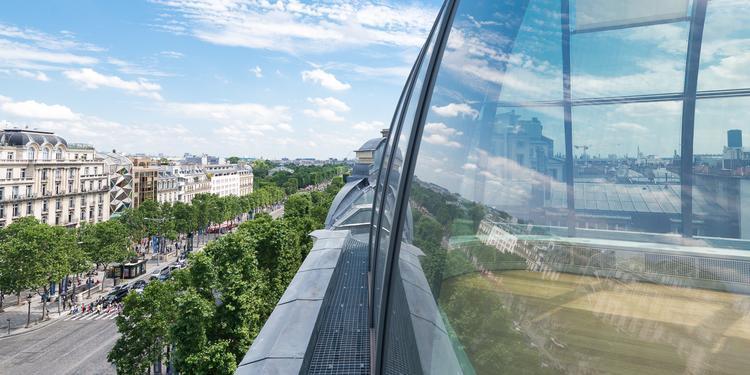 Le Rooftop de l'Alsace, Salle de location Paris Champs-Elysées #0