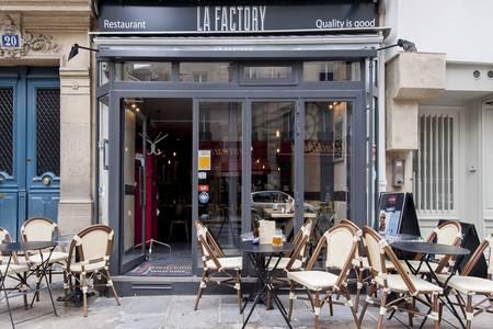 La Factory Burger, Restaurant Paris Les Halles #0