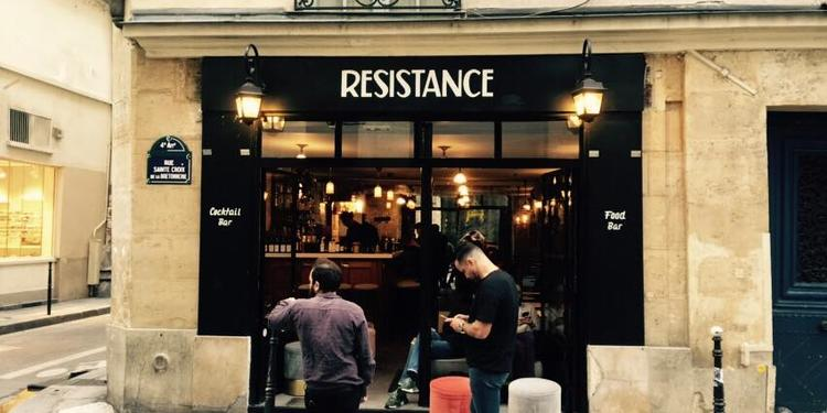 Résistance, Bar Paris Marais #0