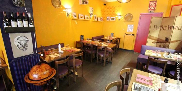 Au Goût Du Monde, Restaurant Paris Place d'Italie #4